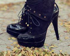 Love! Love! Love these Black High Heel Boots !!!