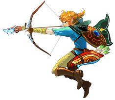 I LOVE Link's bow and arrow!!