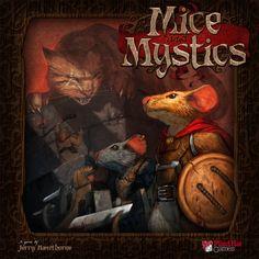 Mice & Mystics - primeiras impressões (first impressions review in portuguese)   Mice and Mystics   BoardGameGeek