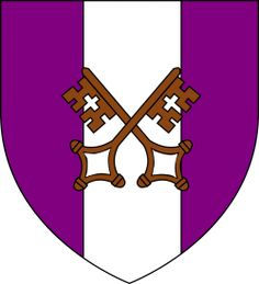 House Locke Sigil: Two bronze keys on the white pale on the purple field Title: Lord of Olcastle History: They were lords of Wolf's Den on the mouth of river White Knife for two centuries. Lord Of Wolves, House Sigil, Medieval Paintings, Game Of Thrones Art, Military Units, Alternate History, Fire And Ice, Crests, Home Brewing