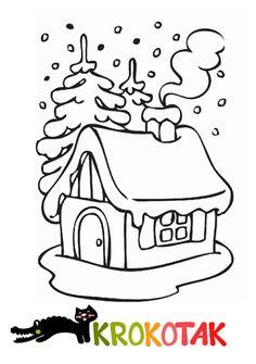 Winter house with cotton | krokotak