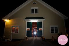 We love the barn at Laudholm Farm in Wells. Photo by Whitney at emilie inc. photography. www.realmaineweddings.com