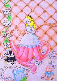 Alice im Wunderland, by KnuddelZombie
