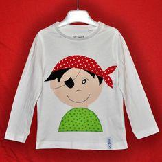 T-Shirts - T-Shirt - Pirat - ein Designerstück von MrsPy bei DaWanda