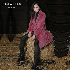 2016 Woman's Mink Coat Woman's Fur Coat Velvet Mink Long Coat Purple Color  WXN020-in Fur & Faux Fur from Women's Clothing & Accessories on Aliexpress.com | Alibaba Group