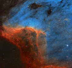 The Pelican Nebula (also known as IC 5070 and IC 5067[ ) is an H II region associated with the North America Nebula in the constellation Cygnus. - Credit: Howard Trottier - http://asterisk.apod.com/viewtopic.php?f=29&t=34284