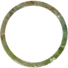 """Watercolor Circle Frame """"A Town of Memories"""" Digital Scrapbooking Kit"""