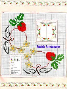Anaide Ponto Cruz: São os ultímos gráficos,aproveite façam lindas toalhas bordadas!!!
