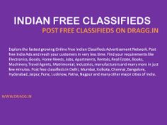 POST FREE CLASSIFIEDS ON http://www.dragg.in