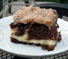 Mommy's Kitchen: German Chocolate Cheesecake Cake