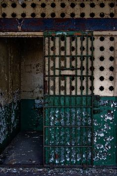 Cell. Abandoned York County Prison, York, PA