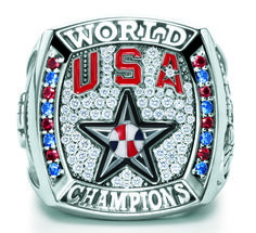 2010 FIBA World Championship Ring. I had no idea they got rings for this. These are AWESOME!! Championship Rings, World Championship, Baseball Ring, Olympic Logo, College Rings, Savage Life, Crown Of Thorns, Mlb Teams, Volkswagen Logo