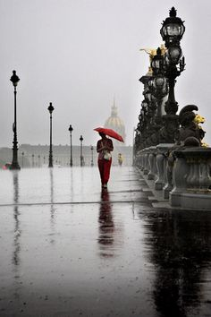 #paris in the rain...