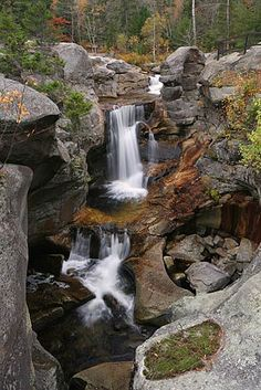 Screw Auger Falls, Bethel, Maine.