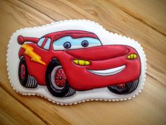 Cars disney cookies for kids ideas Baby Birthday Cakes, Cars Birthday Parties, Birthday Cookies, 1st Boy Birthday, Car Cookies, Disney Cookies, Cookies For Kids, Best Cake Mix, Disney Cars Party