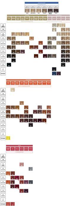 Redken Color Fusion Color Chart