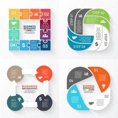 Millions of Free Graphic Resources. Circle Infographic, Creative Infographic, Infographic Templates, Chart Design, App Design, Scientific Poster Design, Powerpoint Design Templates, Timeline Design, Slide Design