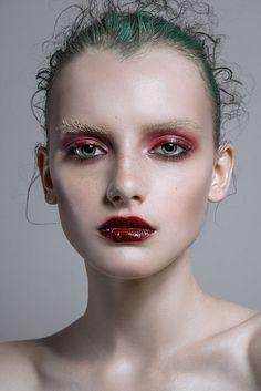 fashion makeup ♦F&I♦ Makeup Trends, Makeup Inspo, Makeup Art, Makeup Inspiration, Beauty Makeup, Eye Makeup, Hair Makeup, Hair Beauty, Foto Fashion