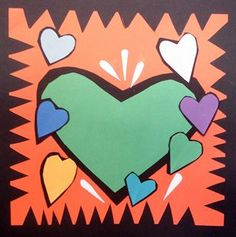 Check out student artwork posted to Artsonia from the Burton Morris Hearts project gallery at Fountain Woods Elementary School.