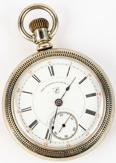 19 best pocket watches clocks images on pinterest pocket watch lot 29a in the 9115 online live auction vintage dueber open face fandeluxe Images