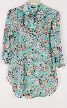 Charlene Shirt in Greek Turquoise