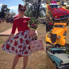 """30 Likes, 1 Comments - Bambi L'amour (@bambi.lamour) on Instagram: """"2015 Highlight No. 7: My first win at the Marsh Rodders Show'n'Shine Swap Meet! Probably the most…"""""""