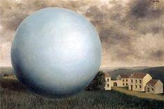 René Magritte - L'Ombre Monumentale, 1932 Rene Magritte : More At FOSTERGINGER @ Pinterest