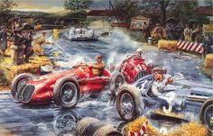 Placer visual: Una notable colección de dibujos y publicidad de autos antiguos - Rutamotor - Pasión por los autos