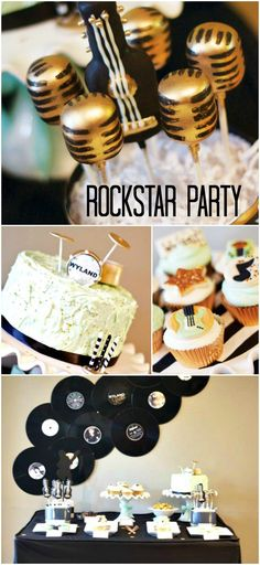 {ROCKSTAR} Birthday Party <3