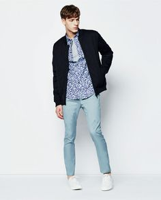 Image 1 of QUILTED JACKET from Zara