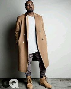 Kanye West Guide to God-Level Fashion west gq magazine september 2014 style west gq magazine september 2014 style 09 Ropa Kanye West, Style Kanye West, Kanye West Outfits, Kanye West Fashion, Men Looks, Men Street, Street Wear, Mode Costume, Gangster