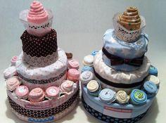 diaper cakes torte di pannolini