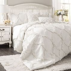 "Promising Review: ""It looks very chic, and the comforter is thick and fluffy!!"" —Amazon CustomerPrice: $89.99 (available in queen and king, and in two colors)."