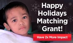 Planning on making a donation to support HOPE's lifesaving work this year? Today your gift will be doubled to do twice as much good for people in need, like our friends in the Philippines suffering from yet another major typhoon. http://bit.ly/1vpqQnJ