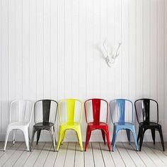 Iron Industrial cello chair