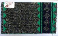 Custom REVERSIBLE Kelly Green Show Pad – The Bling Boutique