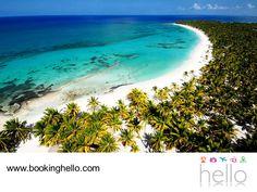 LGBT ALL INCLUSIVE AL CARIBE. La isla caribeña de República Dominicana, tiene mucho más de lo que te imaginas para disfrutar de unas vacaciones sorprendentes junto a tu pareja. Su riqueza natural incomparable les da la oportunidad de realizar diferentes excursiones, para apreciar sus paisajes. Isla Catalina, Samaná o Bayahíbe, son sólo algunas de las opciones que podrán visitar, además de vivir la mejor experiencia all inclusive de Booking Hello. #BeHello