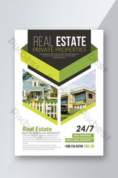 Complete set of real estate fashion and simple style corporate Brochure Graphic Design Brochure, Graphic Design Posters, Graphic Design Inspiration, Creative Poster Design, Event Poster Design, Flyer Design, Web Design, Layout Design, Book Cover Design