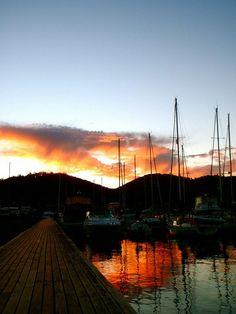 Hobart, Tasmania, Australia Tasmania Hobart, Australia, Celestial, Explore, Sunset, Places, Outdoor, Outdoors, Sunsets