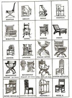 Byzantine chair