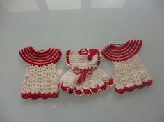 Vintage Dress Pot Holders by MemphisNanney on Etsy, $8.50