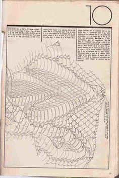 """#164 Tapete """"Flores y Capullos"""" a Crochet"""
