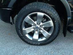 tire black  2012 Ford F-150 truck
