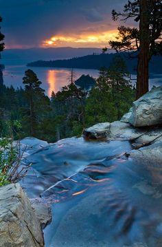 Eagle Falls Sunset share moments