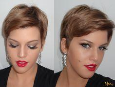 MariCômio: Make Inspiração: Barbie The Blonds