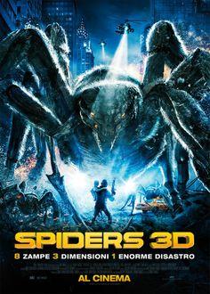 Un thriller catastrofico, dall'alto potenziale adrenalinico.   #Spiders3D, dal 13 Febbraio al #cinema!