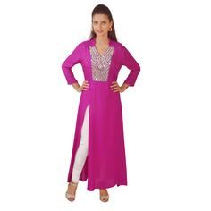 Long Mirror Work Plain Kurti at Rs 5946668 Voonik Maroon Color, Pink Color, Gray Color, Mirror Work Kurti, Plain Kurti, Long Mirror, Drashti Dhami, Blue C, Online Shopping Websites