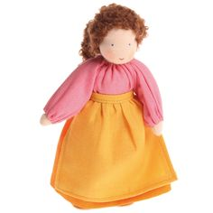 Waldorf Family Dolls - Mother, Brown Hair