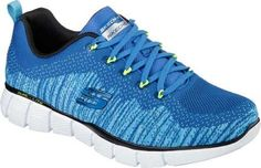 Skechers Mens Equalizer 20  Perfect Game Sneaker BlueLime Size 105 -- See this great product.