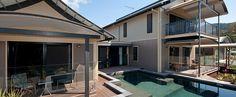 3 Storey Custom Design in Cairns Prefabricated Houses, New House Plans, Modular Homes, Kit Homes, Cairns, Steel Frame, Custom Design, Construction, House Design